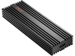 USB3.2 Gen2チップセット採用、放熱性にも優れた超高速外付けSSD!