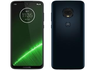 Motorola モトローラ 納期未定 6.24型SIMフリースマートフォン Moto G7+ PLUS プラス PADU0003JP ディープインディゴ 単品購入のみ可(取引先倉庫からの出荷のため) 【クレジットカード決済、代金引換決済のみ】