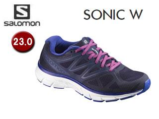 L39355800 SONIC W ランニングシューズ ウィメンズ  23.0  SALOMON サロモン-メンズシューズ 6ed8127f35