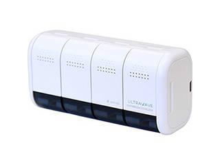 MEDIK MEDIK 99.9%の除菌ができる 壁掛け用充電式歯ブラシ除菌ホルダー ホワイト MDK-TS04WH