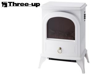 【nightsale】 Three-up/スリーアップ CHT-1540WH 暖炉型ヒーター「ノスタルジア」 (ホワイト)