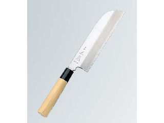 正本 本霞(玉白鋼)鎌形薄刃 22.5cm KS0722