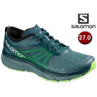 SALOMON/サロモン L40476500 SONIC RA ランニングシューズ メンズ 【27.0cm】(Hydro/ReflectingPond/GreenGecko)