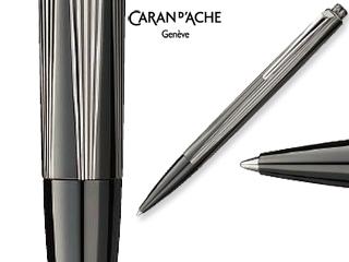 CARAN dACHE/カランダッシュ 【RNX.316】PVDブラック ボールペン 4580-080