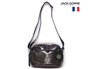 Jack Gomme/ジャックゴム フランス製 0008 1567 HAPPY ミニショルダーバッグ BRONZE ポーチ付