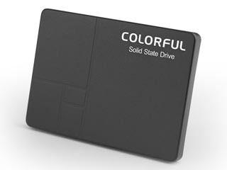 Colorful/カラフル 2.5インチSSD(SATA3.0) Intel 3D TLC NAND採用 SL500 640G