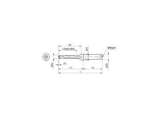 KYOCERA/京セラ ドリル用ホルダ SF16-DRC115M-5