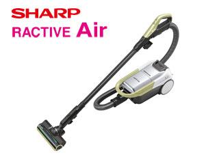 SHARP/シャープ EC-AP500-Y コードレスキャニスター紙パック式掃除機 RACTIVE Air (イエロー系)