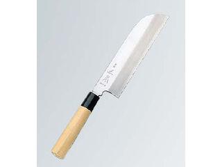 正本 本霞(玉白鋼)鎌形薄刃 24cm KS0724