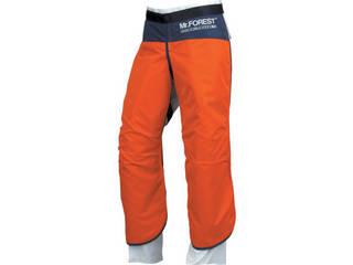 MAX/マックス Mr.FOREST 防護チャップス オレンジ Mサイズ MT536-OR-M