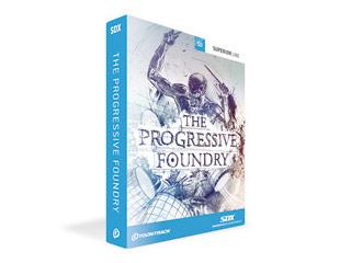 TOONTRACK/トゥーントラック SDX PROGRESSIVE FOUNDRY / BOX (SDX プログレッシブ・ファウンドリー / BOX) メタル系拡張ドラム音源 【TT324】