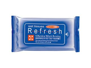 HATTORI 服部 リフレッシュ 10枚入 送料無料 激安 お買い得 キ゛フト 再再販 ウエットティッシュ