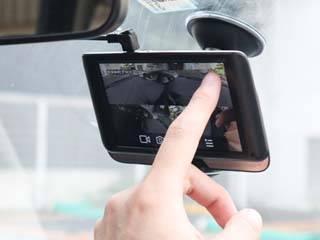 THANKO サンコー 5インチ360度ドライブレコーダー&リアカメラ THCARVR36R