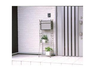 GREEN LIFE/グリーンライフ ガーデンポストスタンドセット/チタングレー/GPS02FH58TG