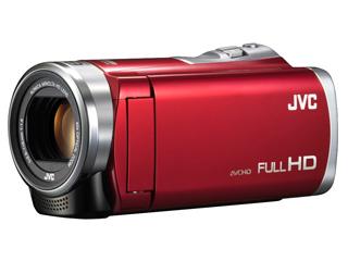 【お得な予備電池付きもあります!】 JVC/Victor/ビクター GZ-E109-R(レッド)