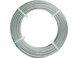 TRUSCO/トラスコ中山 ステンレスワイヤロープ ナイロン被覆 Φ2.0(2.5)mm×20 CWC2S200