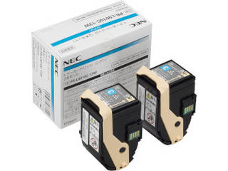 NEC Color MultiWriter 9010C用トナーカートリッジ シアン 2本セット PR-L9010C-13W