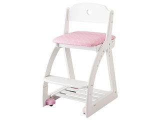 KOIZUMI/コイズミ 【Lovely Chair/木製ラブリーチェア】KDC-038PW HP ハートピンク