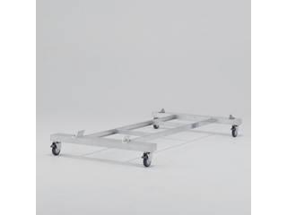 ALINCO/アルインコ 作業台CSD-F用4輪キャスター付きベース CSDB12