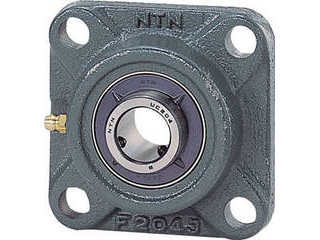 NTN G ベアリングユニット(円筒穴形、止めねじ式)軸径60mm全長187mm全高187mm UCFX12D1