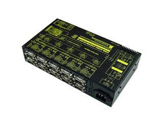 システムサコム工業 USB/RS232C 10ポート分配/統合ユニット 絶縁タイプ USB-232C-232TW10-AC-U