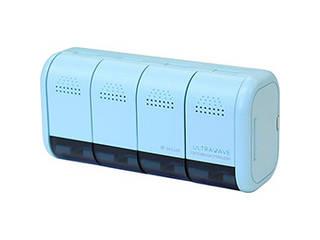 MEDIK MEDIK 99.9%の除菌ができる 壁掛け用充電式歯ブラシ除菌ホルダー ミントブルー MDK-TS04MIN