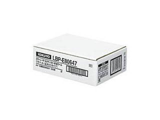 KOKUYO/コクヨ LBP-E80647 レーザー&コピー用リラベルはかどりタイプ