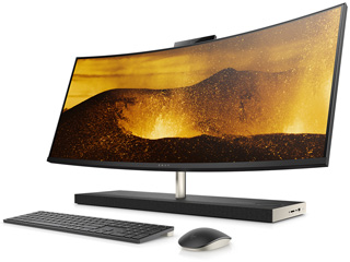 HP/エイチピー 34型液晶一体デスクトップPC HP ENVY Curved All-in-One 34-b170jpシリーズ 4LZ30AA-AAAA