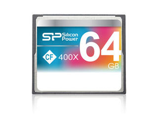 Silicon Power/シリコンパワー コンパクトフラッシュ 64GB 400倍速 永久保証 SP064GBCFC400V10