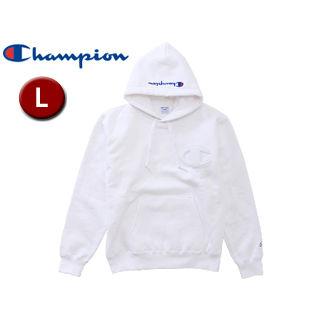 【在庫限り】 Champion (ホワイト) HanesBrands)/チャンピオン(by HanesBrands) ■C3-L119-010 プルオーバースウェットパーカー メンズ ■C3-L119-010【L】 (ホワイト), 王寺町:63bfbd20 --- hortafacil.dominiotemporario.com