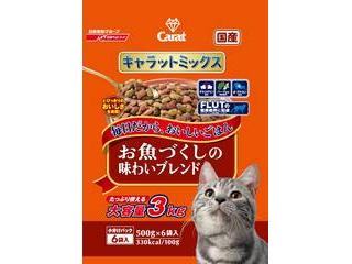 Nisshin/日清ペットフード キャラットミックス お魚づくしの味わいブレンド 3kg