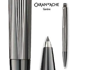 CARAN dACHE/カランダッシュ 【RNX.316】PVDブラック アーティスト2芯ペンシル 4562-080
