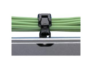 Panduit/パンドウイットコーポレーション 押し込み型固定具 耐熱性黒 (1000個入) PBMS-H25-M30
