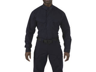 5.11 Tactical/ファイブイレブンタクティカル ストライク TDU LSシャツ ダークネイビー Mサイズ 72416-724-M