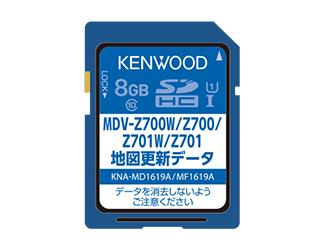 KENWOOD/ケンウッド KNA-MD1619A 地図更新SDカード