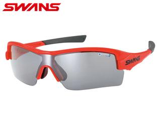 SWANS/スワンズ H-3602(OR) STRIX・H/ストリックス・エイチ (ブラッドオレンジ×ブラッドオレンジ)【両面撥水ミラー】