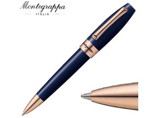 Montegrappa/モンテグラッパ ボールペン ■フォーチュナ【ブルー】■18Kローズゴールドコーティング(ISFORBRD)