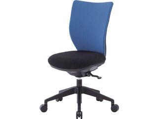 IRIS CHITOSE/アイリスチトセ 【代引不可】回転椅子3DA ブルー 肘なし シンクロロッキング 3DA-S45M0-BL