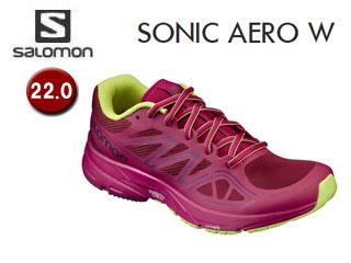 SALOMON/サロモン L39349700 SONIC AERO W ランニングシューズ ウィメンズ 【22.0】