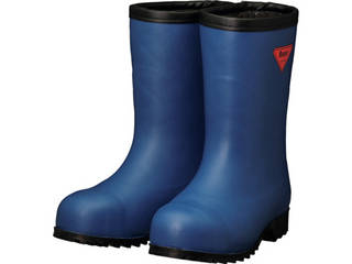 SHIBATA/シバタ工業 防寒安全長靴セーフティベアー#1011白熊(ネイビー)フード無し 24.0cm AC061-24.0