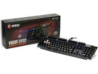MSI MSI Vigor GK80 CS JP GAMING キーボード Vigor GK80 CS JP