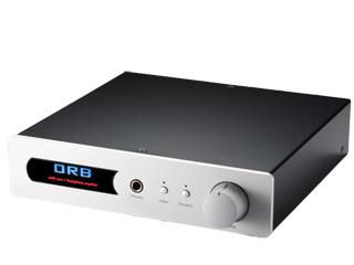 【納期にお時間がかかる場合があります】 ORB オーブ JADE casa Black(ブラック) ヘッドフォンアンプ