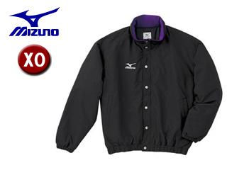 mizuno/ミズノ A60JF962-88 フード収納式 中綿ウォーマーキルトシャツ (ブラック) 【XOサイズ】