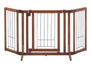 Richell/リッチェル ペット用木製おくだけドア付ゲート S