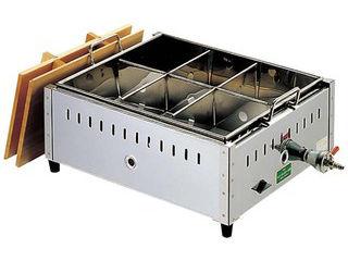 EBM 【業務用】 18-8 関東煮 おでん鍋 尺4(42cm)13A eb-0885720