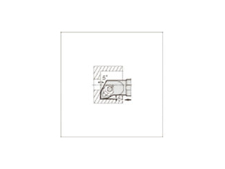 KYOCERA/京セラ 内径加工用ホルダ S25S-WWLNR08-34E