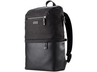 TENBA/テンバ V637-408(グレーキャンバス/ブラックレザー) 【Cooper DSLR Backpack/ クーパー バックパック DSLR】