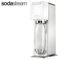 【nightsale】 sodastream/ソーダストリーム SSM1059 Sorce Power(ソース・パワー) [スターターキット] (ホワイト)【全自動モデル】 【炭酸水製造機】【炭酸水メーカー】【ソーダーメーカー】 【沖縄配送不可】
