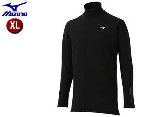 mizuno/ミズノ 52MJ8504-09 バイオネクスト タートルネック長袖シャツ 極厚タイプ メンズ 【XL】 (ブラック)