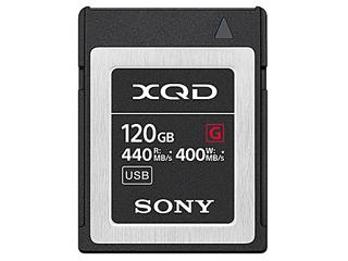 SONY/ソニー QD-G120F(120GB) XQDメモリーカード【Gシリーズ】